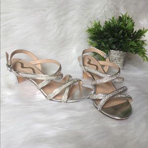 Nina Rhinestone Dress Sandals